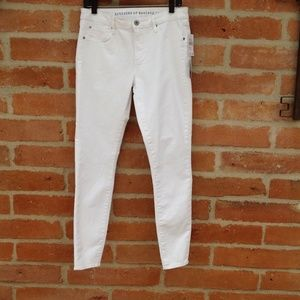 Articles of Society white denim jeans